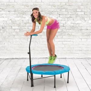 Cours de rebounding sur mini trampoline