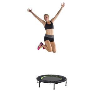 Une belle ligne avec le mini-trampoline