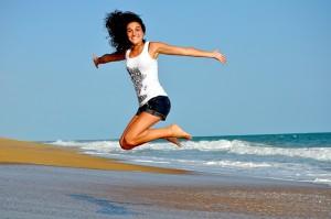 Le mini-trampoline a changé ma vie. Faites comme moi, bondissez de bonheur !