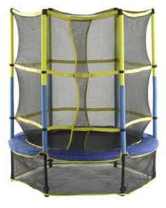 Mini trampoline pour enfant avec filet de protection