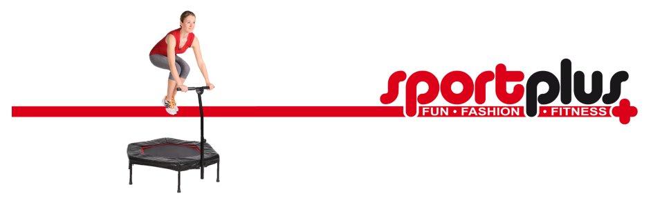 Trampoline fitness de la marque Sportplus