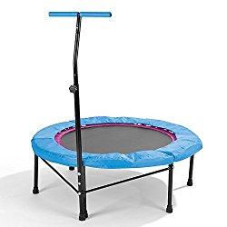 Mini trampoline avec barre